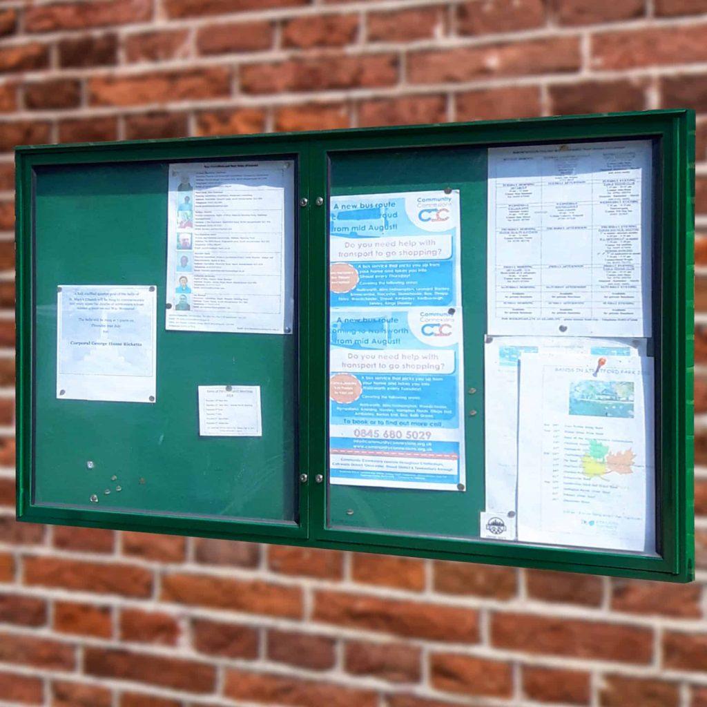 Varicase Double/Triple Door Wall Noticeboards