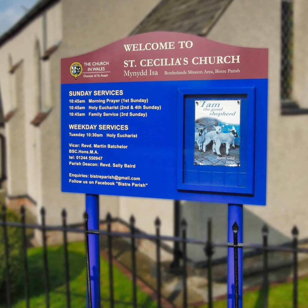 Church Notice Boards